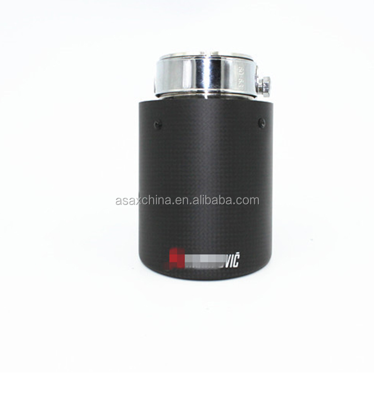 High Quality universal ak carbon fiber exhaust tips