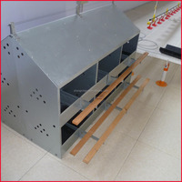 metal chicken nesting boxes for poultry farm