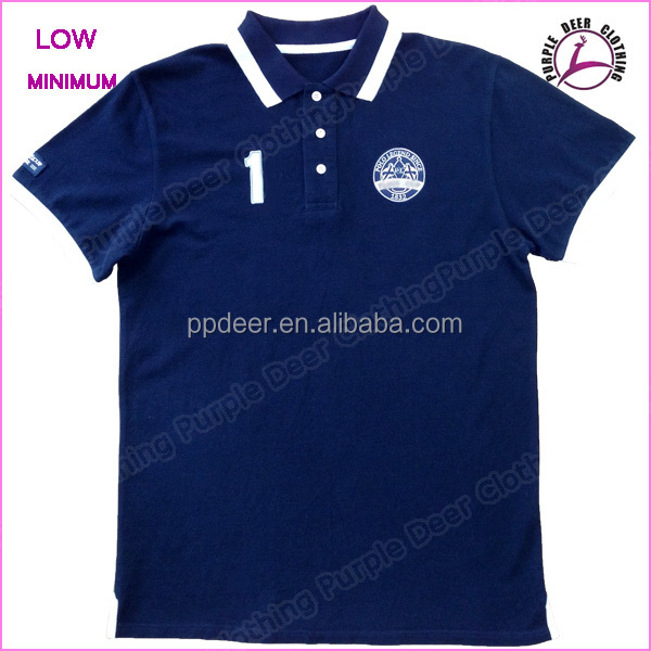 high quality polo shirts embroidered sports brand cotton
