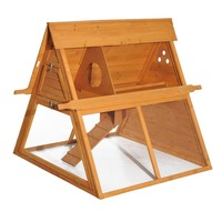 Factory New wooden chicken coops Large pet house for sale