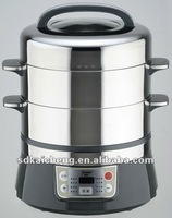 Full stainless steel electric steamer