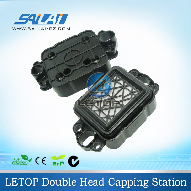 New type!!double head capping station dx5 cap top for eco solvent printer thunderjet gongzheng