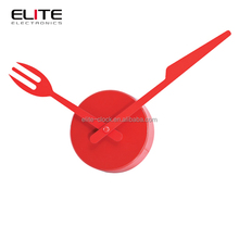 knife and fork clock hands decoration kitchen wall clock