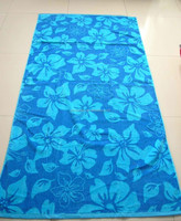 2015 high quality woven beach towel fabric