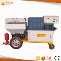 Automatic rendering wall cement plaster equipment for construction use