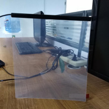 electric color change switchable smart glass