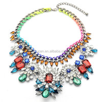 CHEAP PRICES TOP FASHION!!! hot sell flower necklace terracotta jewellery
