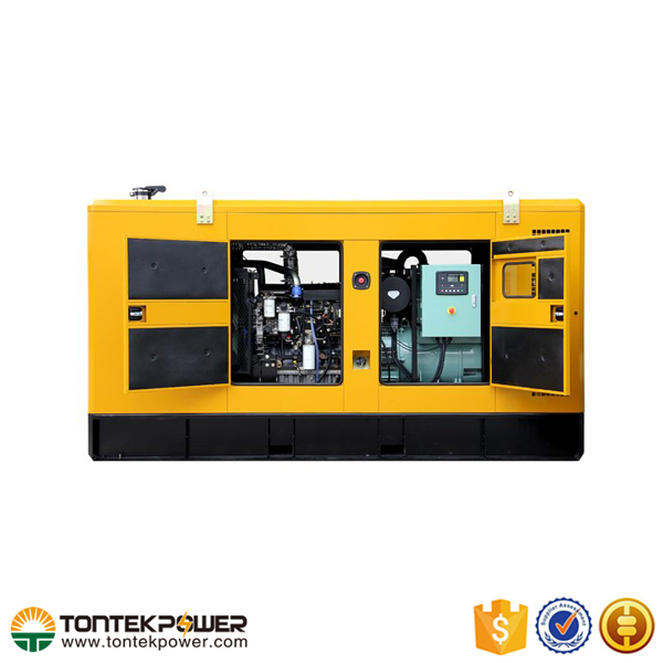 Soundproof 100KVA Brushless Four Stroke Diesel Generator