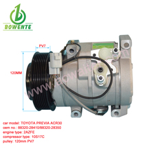 10S17C china air compressor aftermarket for PREVIA ACR30 OEM 88320-28410/88320-28350