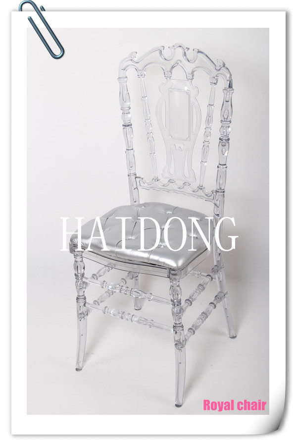 Haidong Wedding Banquet Hotel Polycarbonate(PC) Resin Royal Chair