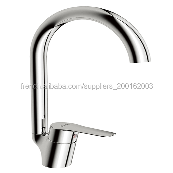 HH125141Single Lever Deck Mounted Pull Out Chrome Kitchen mixer Tap Faucet