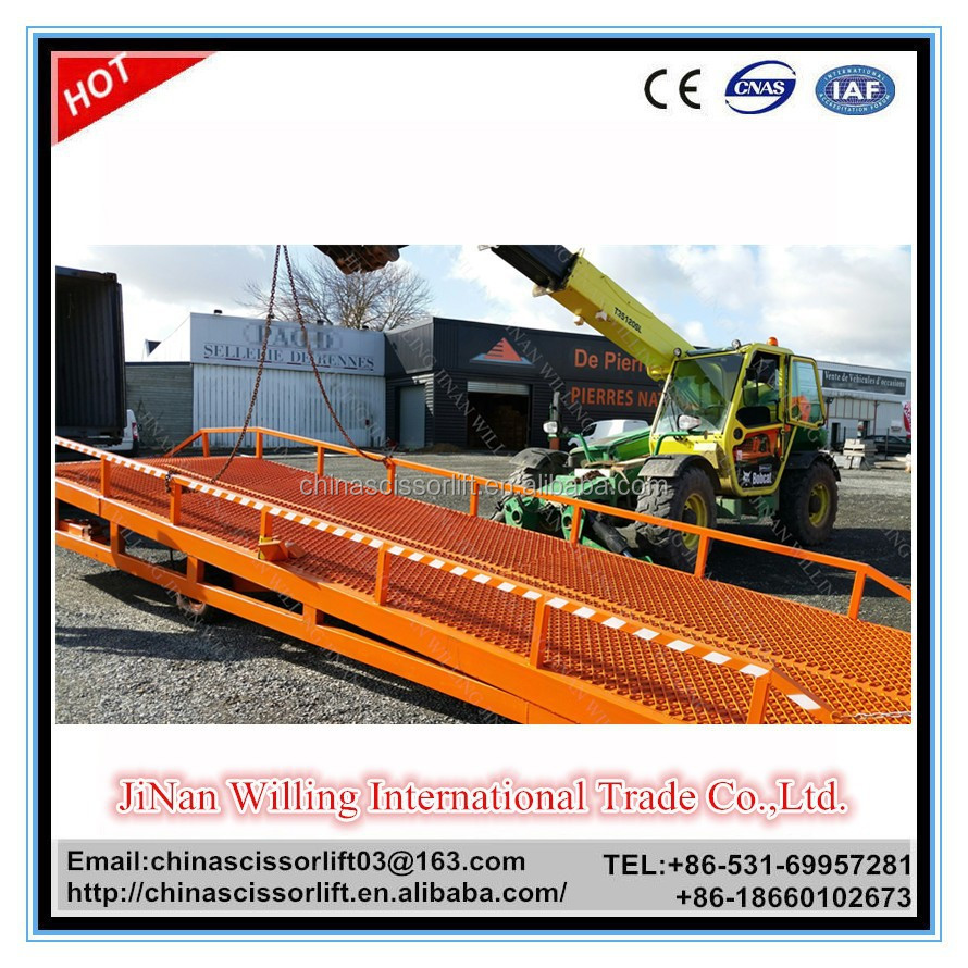 lifting equipment/hydraulic lift elevator/mechanical dock leveler