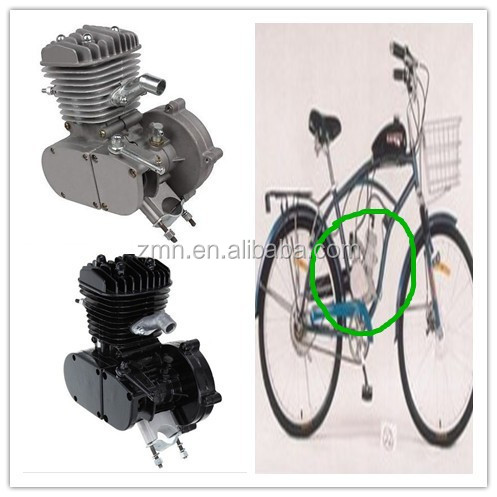 High Quality 2 Stroke 80cc Gas Bike Engine Kit/Motorized Gas Kit Engine wholesale price