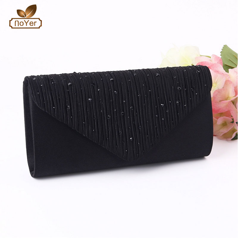 Long ladies elegant cell phone wallet women latest party rhinestone clutch