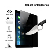 9H Hardness Anti-scratch Anti spy Anti peek peeping switchable privacy 9H Tempered glass screen protector for IPAD Mini 2 3 4 5