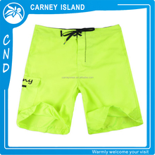 Surf Shorts fluorescence color custom logo mens swimshorts