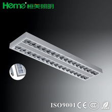 1200x300mm LED ceiling parabolic lighting troffer diffusers grille lamp gurantee 3 years