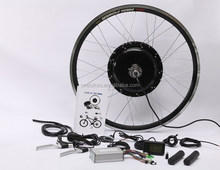 CE approved front rear wheel 48v 1000w gearless hub motor electric bike conversion kit with pack battery