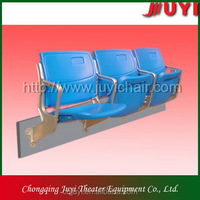 HDPE,Plastic Material and Outdoor Furniture General Use auto tip up stadium chair
