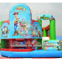 High quality inflatable jumping castle /inflatable bouncy castle with slide