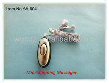 Egg Shaped mini body massager/portable slimming massager for weight loss 2013 hot sale on alibaba china