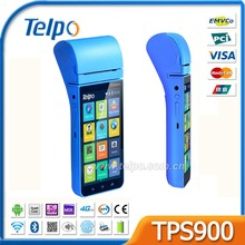 Telpo TPS900 Handheld Electronic Payment POS Terminal with Android Fingerprint Scanner