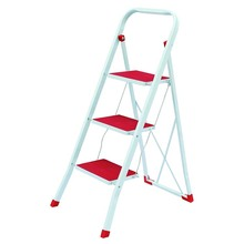 Hot Sale Excellent Style Metal Foldaway 3 Step Ladder With GS Certificate