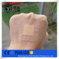 China Alibaba Medical PE Square Waterproof Band Aids for Breast