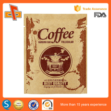 China small brown kraft paper instant coffee sachets