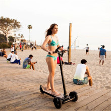 3 wheel folding electric scooter new products 2017 self balance scooter skateboard with GPS
