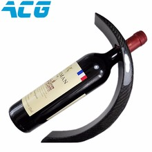 Fashion Style Carbon Fiber Wine Bottle Holder