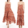 Gypsy Long Dress Chiffon New Style Women Maxi Dress With Full Tiered Skirt HSd5174