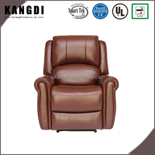 China Supplier Comfortable Massage Leather Home Theater Recliner Sofa