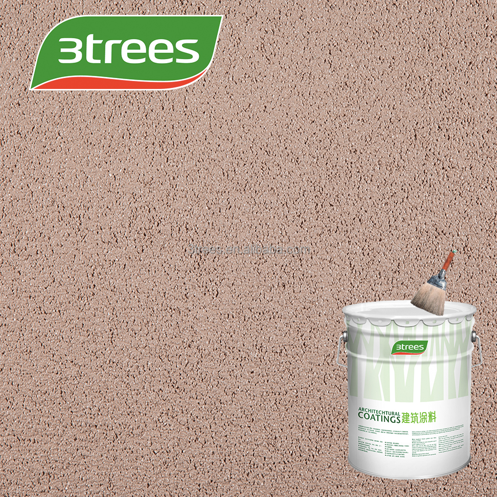 3TREES Textured Paint - Exterior & Interior Wall Coating