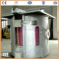 Factory price small 1ton lead melting equipment for melting lead and zinc
