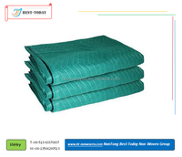 Small quantity wholesale W -shape quilted Protective Terylene Material Furniture Moving Pads