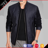 New Style Pakistan Sialkot Wholesale Cheap Price Custom Made Vintage Fashionable Men Leather Jacket/Leather Jackets