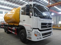 Dongfeng 6x4 sludge transport truck 16m3 with good price for sale 008615826750255 (Whatsapp)