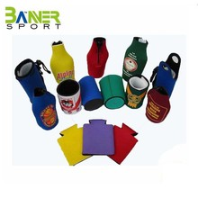 Promotional wholesale top quality custom neoprene can cooler