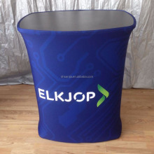 Tension Fabric Promotional pop up counter,tension fabric grahic pop up counter