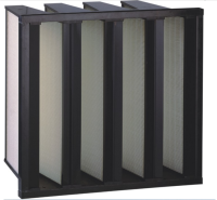 W shape HEPA filter for Air filter
