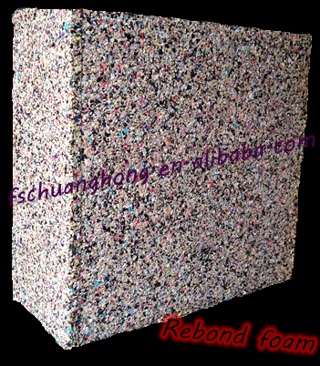 quality Rebonded Foam recycled foam sheet