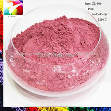 pink stains and pigment for Ceramic Crafts,porcelain