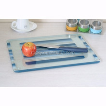 tempered glass cutting boards high quality 4mm 5mm wholesale tempered glass cutting boards