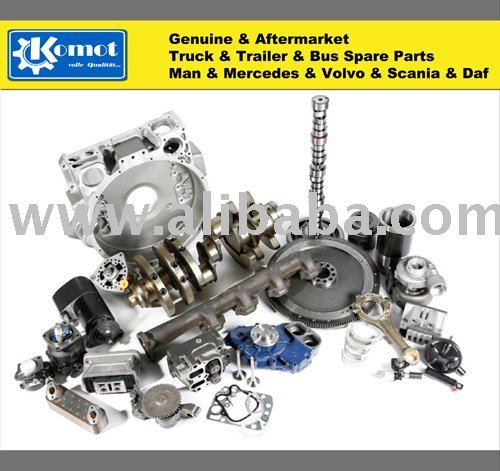 Genuine and aftermarket Truck & Bus & Trailer spare parts