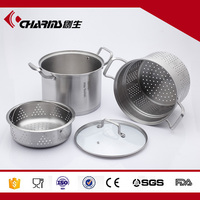 High Quality Soup Pot With Steamer Tray For Cooking Pasta