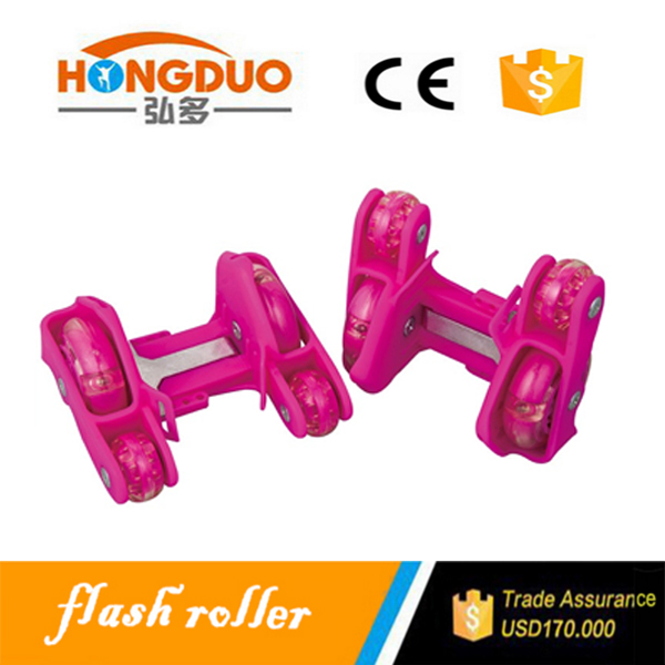 2 PU +2 PVC wheels cheap roller skates