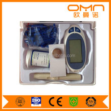 fasting blood sugar test blood glucose meter set with 50pcs strips