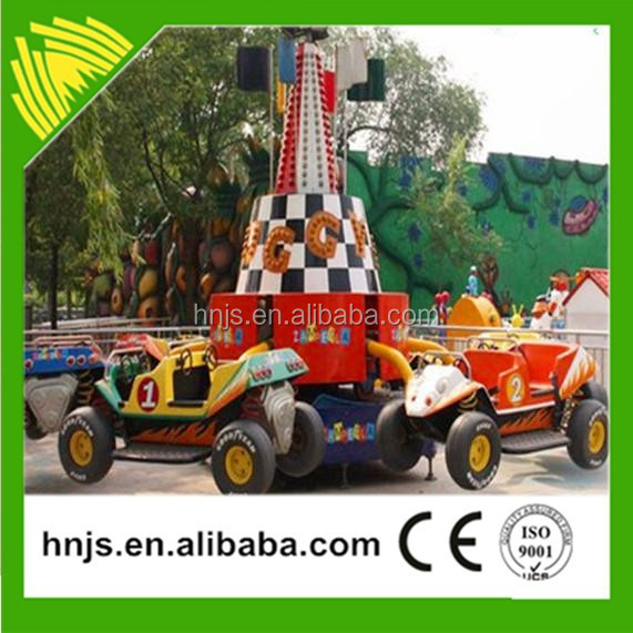 Game equipment kids rides car games jumping bounce car for sale