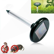 New Utilitarian Solar Pest Ultrasonic Mice Solar Pest Repeller SV022641